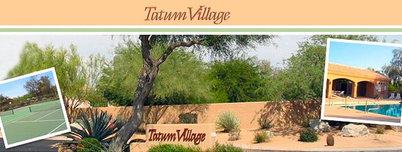 Welcome to Tatum Village HOA!